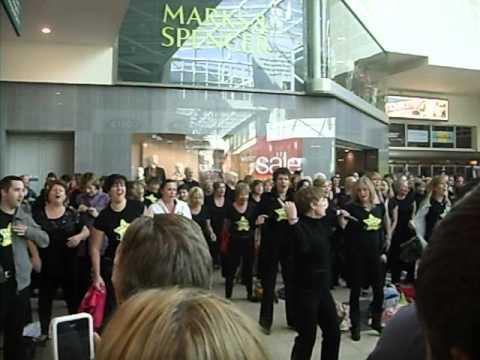 Rock Choir Flash Mob Basingstoke
