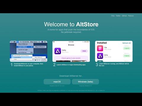 How to Install Unc0ver Jailbreak iOS 13 from AltStore ( Windows PC )