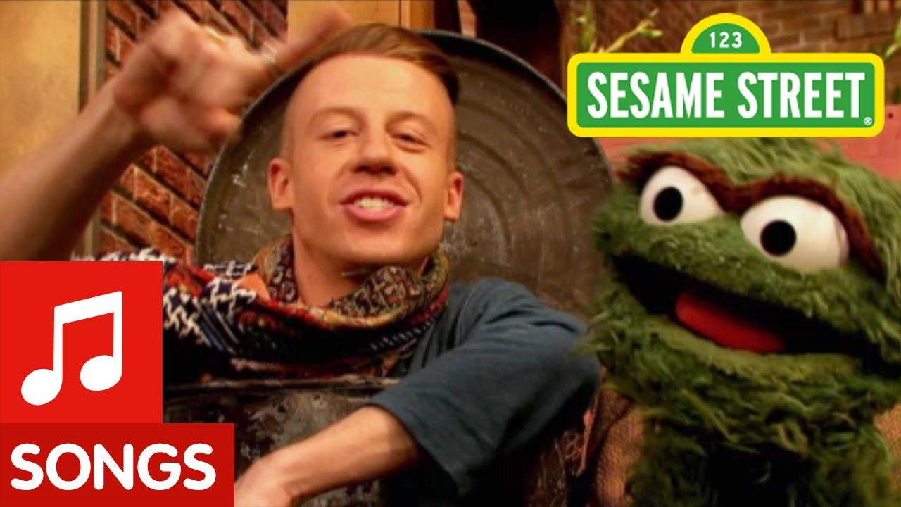 Sesame Street: Oscar ft. Macklemore - YouTube