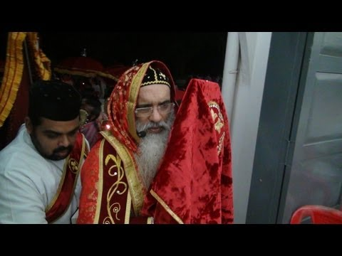 Easter Service by HH Marthoma Paulose II at Mar Elia Cathedral, Kottayam