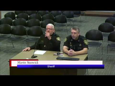 Brookings County Commission 2017-12-05