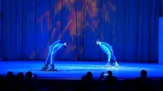 """Танец """"Лыжники"""" на музыку Дидюли. Хореографический ансамбль """"Ритмы детства"""""""
