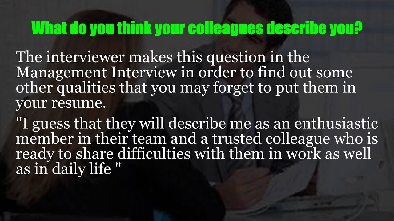 restaurant manager interview questions youtube - It Manager Interview Questions And Answers