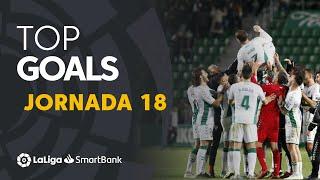 Todos los goles de la Jornada 18 de LaLiga SmartBank 2019/2020