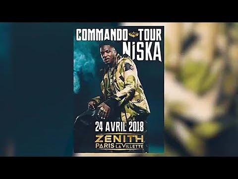 Niska  - Teaser Commando Tour (2017 Official Vidéo)
