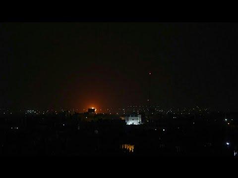 Israel Bombardeia Gaza   AFP