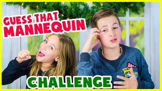 MANNEQUIN CHALLENGE GUESSING GAME! WINTER EDITION