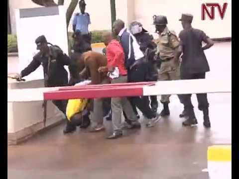 NRM Poor Youth arrested as they deliver Museveni petition to US embassy 3