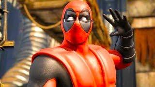Mortal Kombat XL - All Klassic Fatalities on Deadpool Kano Costume Mod 4K Ultra HD Gameplay Mods