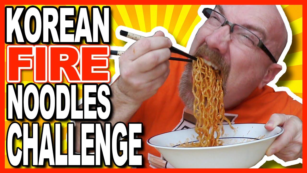 극단적 인 불닭 볶음면 도전! Korean Fire Noodles Challenge!
