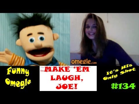 Omegle Funny Trolling in Chat Roulette | Slow Joe Makes 'Em Laugh