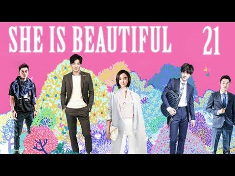 【INDO SUB】 She Is Beautiful  🎀  EP 21 🎀  她很漂亮