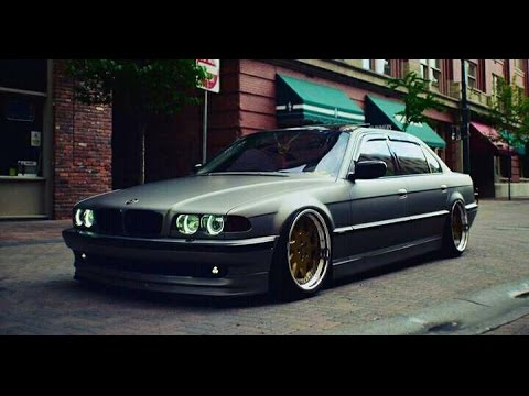 the best bmw e38 old school - YouTube
