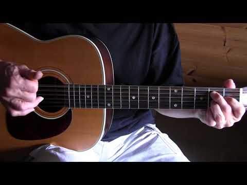 Fingerpicking Lesson - Death Don't Have No Mercy -  TAB available