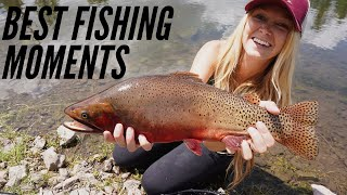 Best Fishing Moments of 2019 !! Crazy Fly Fishing Clips !