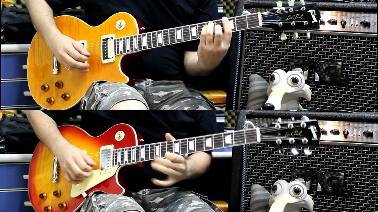 gibson les paul china walkways with loop control youtube for