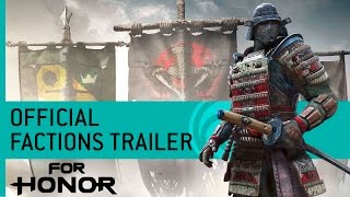 For Honor Trailer: Viking, Samurai, and Knight Factions – Gamescom 2016 [US]