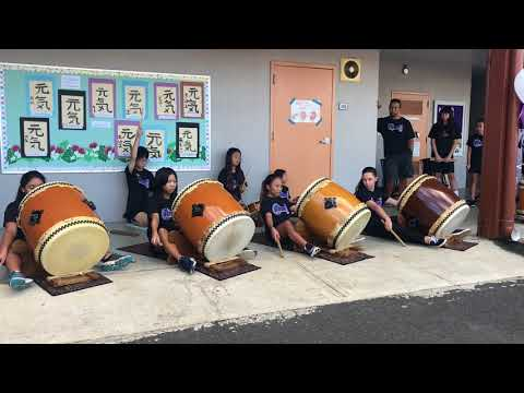 Hongwanji Mission School select taiko 2017