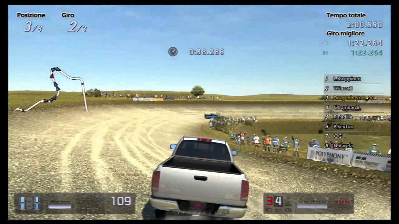 Gran Turismo 5 Seasonal Event 470pp Pickup Truck Race