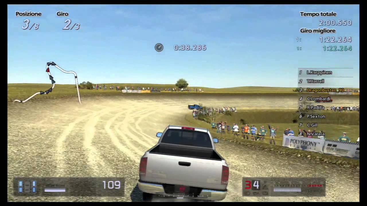 gran turismo  seasonal event pp pickup truck race liege gravel  youtube