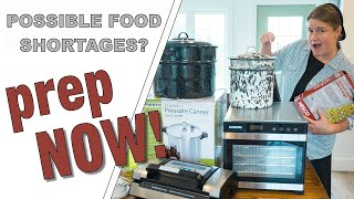my Top 8 Proḋucts (for food preservation and canning) **PREP YOUR PANTRY!**