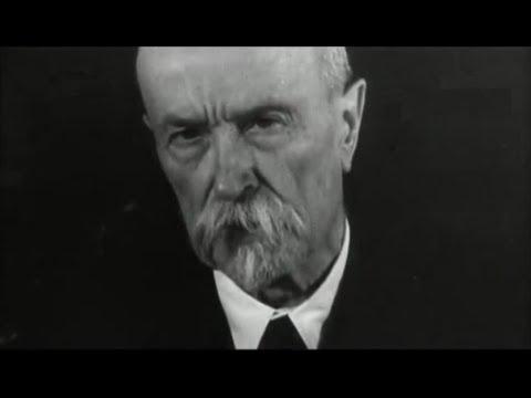 Tomáš Garrigue Masaryk - 1.prezident Československa na Vánoce 1934 se zvukem unikát!!!