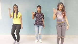 Three girls dance with Tu Cheez Badi Hai Mast Mast