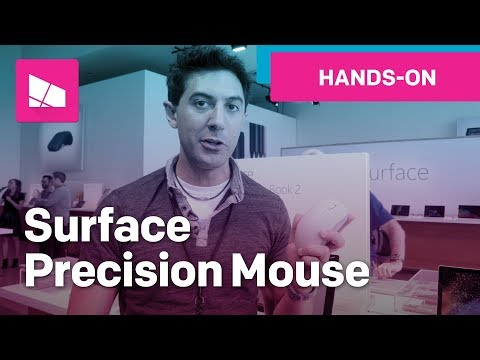 Microsoft Surface Precision mouse hands-on