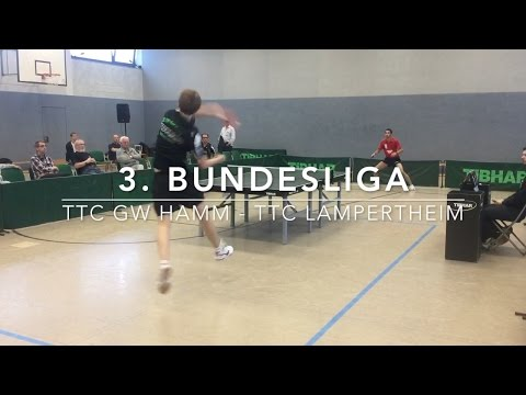 3. Bundesliga Highlights | TTC GW Hamm - TTC Lampertheim