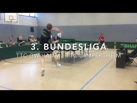 3. Bundesliga Highlights | TTC GW Hamm - TTC Lampertheim