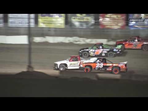 Fremont Speedway Dirt Truck Feature - 7/29/2017