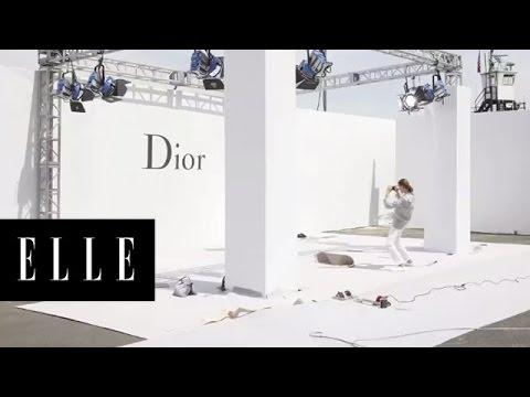 Dior - Behind the Scenes in Brooklyn - ELLE
