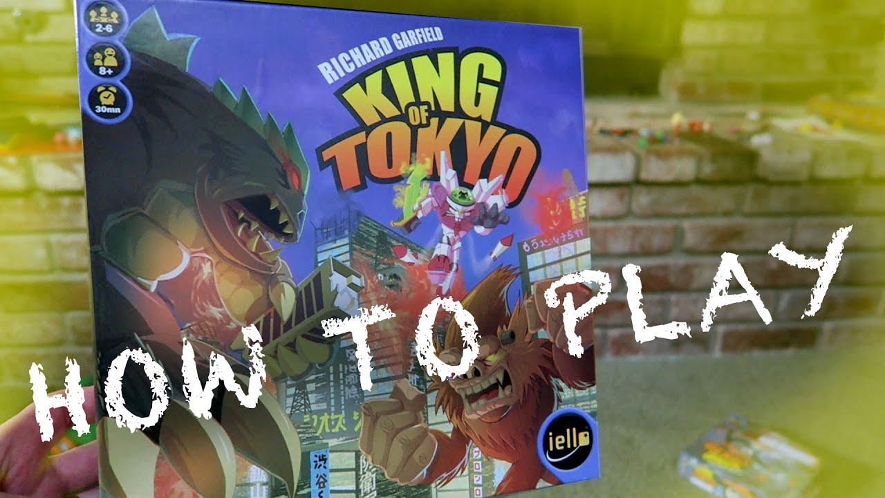 King Of Tokyo Rules: How Do You Play King Of Tokyo?