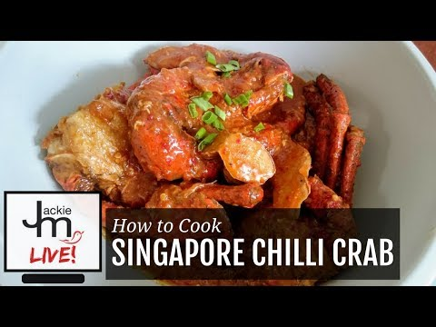 how to make singapore chilli crab