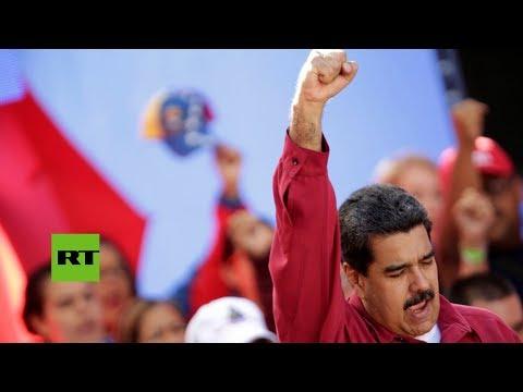 Maduro realiza un viaje sorpresa a Cuba