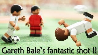 Gareth bale's awesome goal, champions league final, 2018 (lego football video)