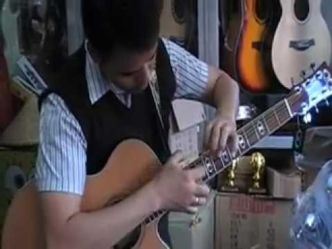 What a new D&D Custom Guitar sounds like...