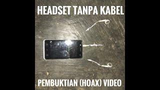 DIY Headset tanpa kabel