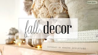 FALL FARMHOUSE DECORATE WITH ME
