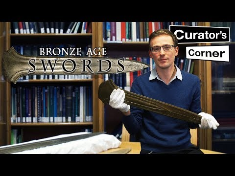 Big swords and Bronze Age war protests | Curator's Corner Season 1 Episode 2
