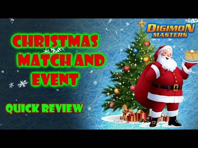 [KDMO] Christmas Match and Christmas event! - Digimon Masters Online