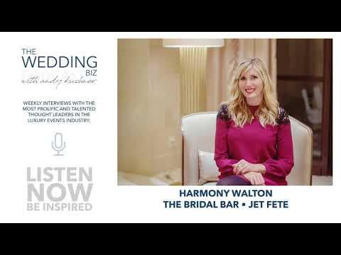Harmony Walton: The Bridal Bar and Jet Fete