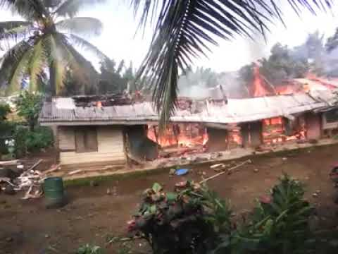 CAMEROON MILITARY LOYAL TO PAUL BIYA CONTINUES BURNING VILLAGES IN AMBAZONIA AT  VERGE OF ELECTIONS