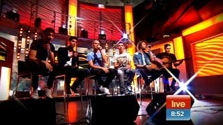 The Wanted perform 'Glad You Came' on Sunrise thumbnail