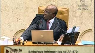 26-02-14 - Mensalão, Barroso - o vaidoso, só levou porrada do JB