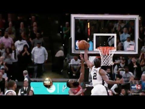 Kawhi Leonard wins the 2017 NBA Block of the Year Award   NBA on TNT