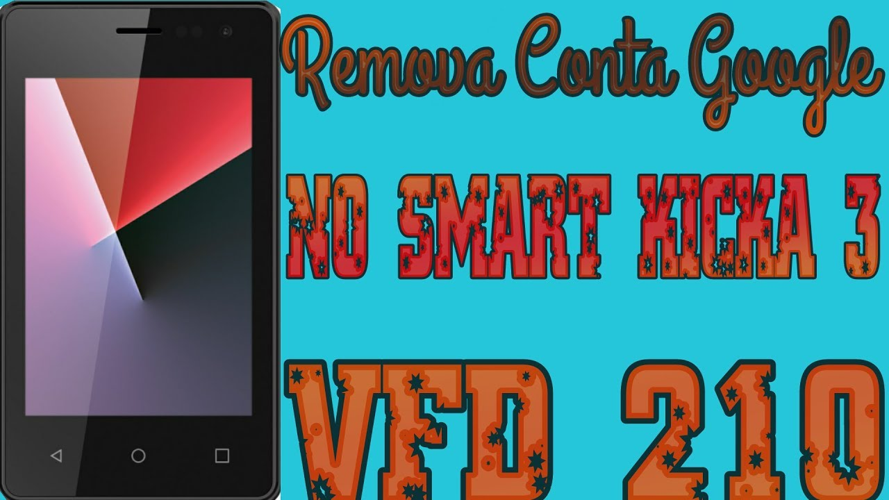 Como Remover Conta Google No VFD 210