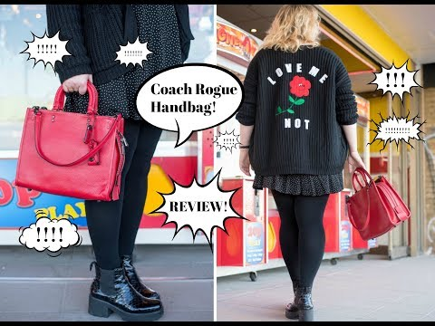 Coach Rogue Handbag Review!!!! Coach's New Direction and quality review! Bag!