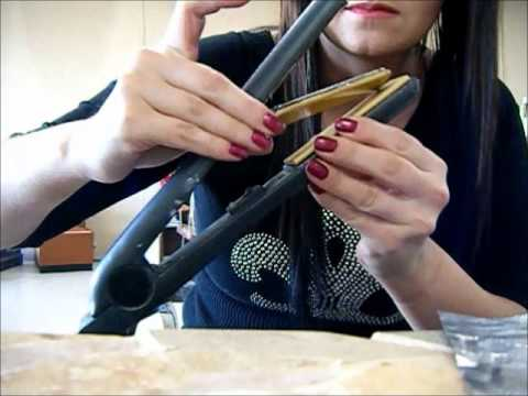 & How too repair loose flat iron plate. - YouTube