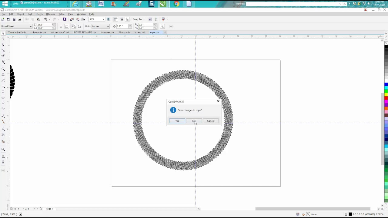 Corel Draw Tips Tricks Closing Open Files In Corel Youtube